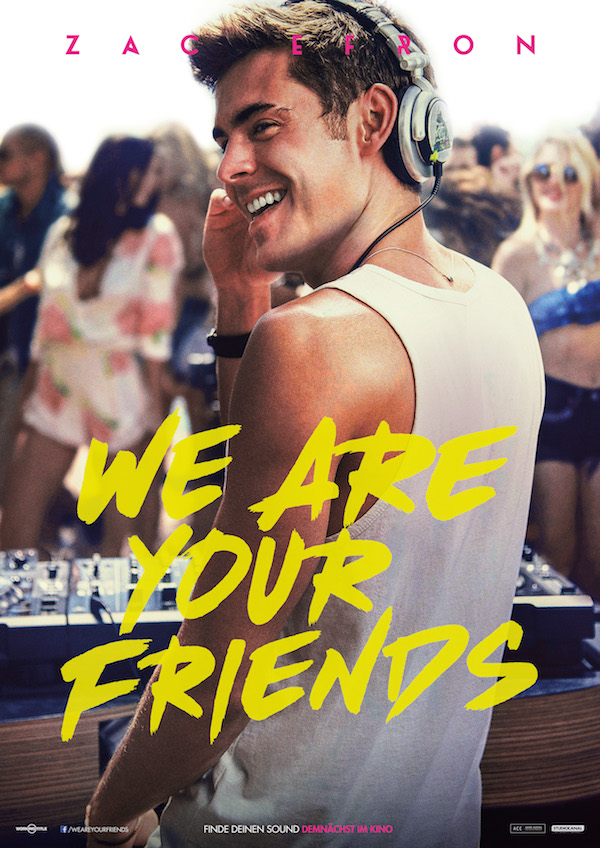 We are your Friends Plakat