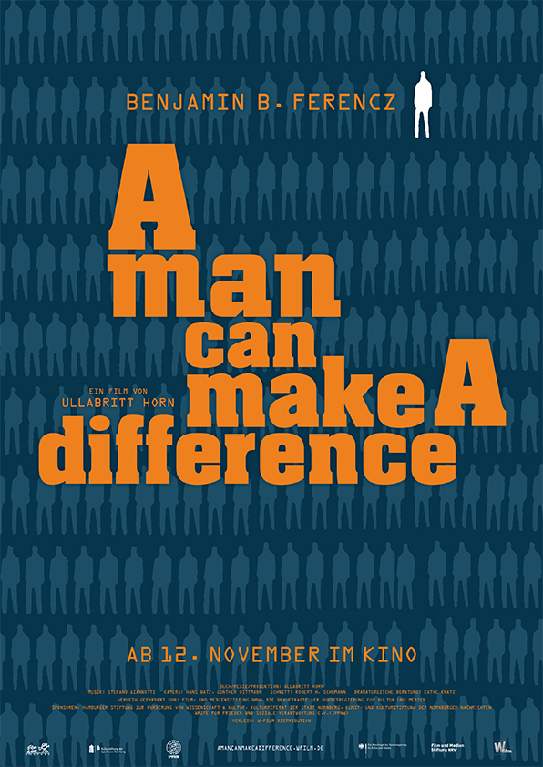 A man can make a difference - Plakat